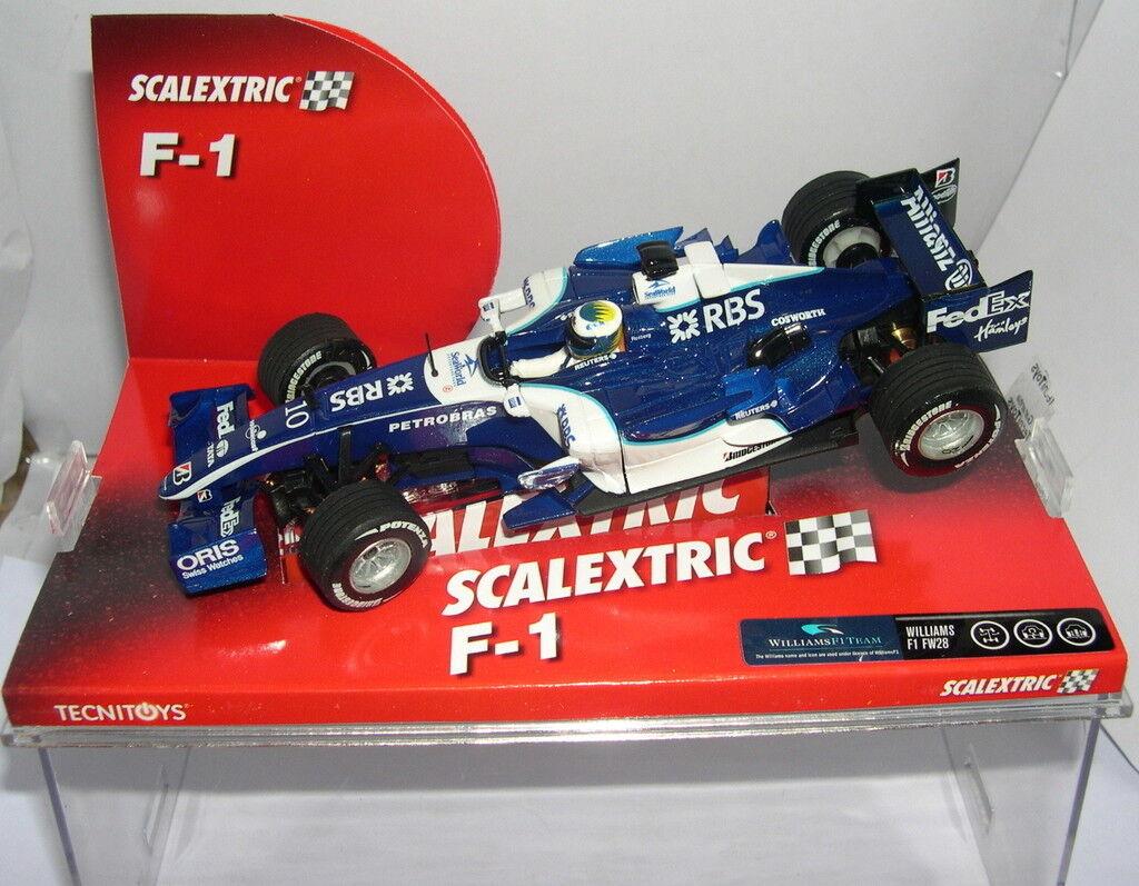 Qq SCALEXTRIC 6245 WILLIAMS F1 FW28 N.ROSBERG