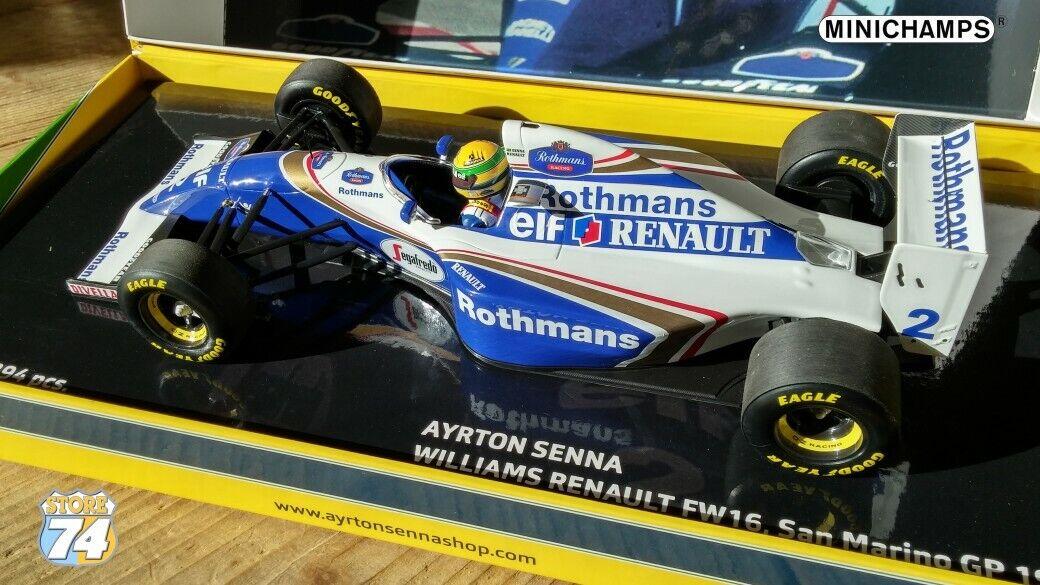 Sena Williams Reynolds FW 16 Sena F1 campeón 1994 1994 1994 138
