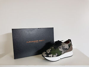 034-Alexander-Smith-034-Sneakers-Donna-Sconto-75-Art-D-20422-Col-Verde-mimetico