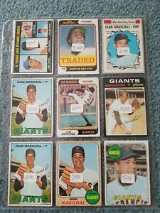 Juan-Marichal-Baseball-Card-Mixed-Lot-Approx-12-Cards