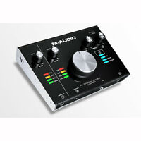 M-audio M-track 2x2m Usb Audio Recording Interface With Midi I/o +picks