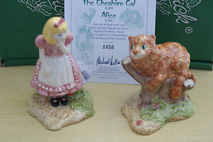 BESWICK-ALICE-amp-CHESHIRE-CAT-FROM-ALICE-IN-WONDERLAND-LIMITED-EDITION