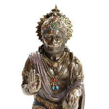 "HANUMAN STATUE 7.5"" Hindu God of Strength HIGH QUALITY Bronze Resin NEW Monkey"