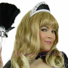 Yummy Bee French Maid Fancy Dress Hat Costume Womens Outfit Waitress Rocky Cap