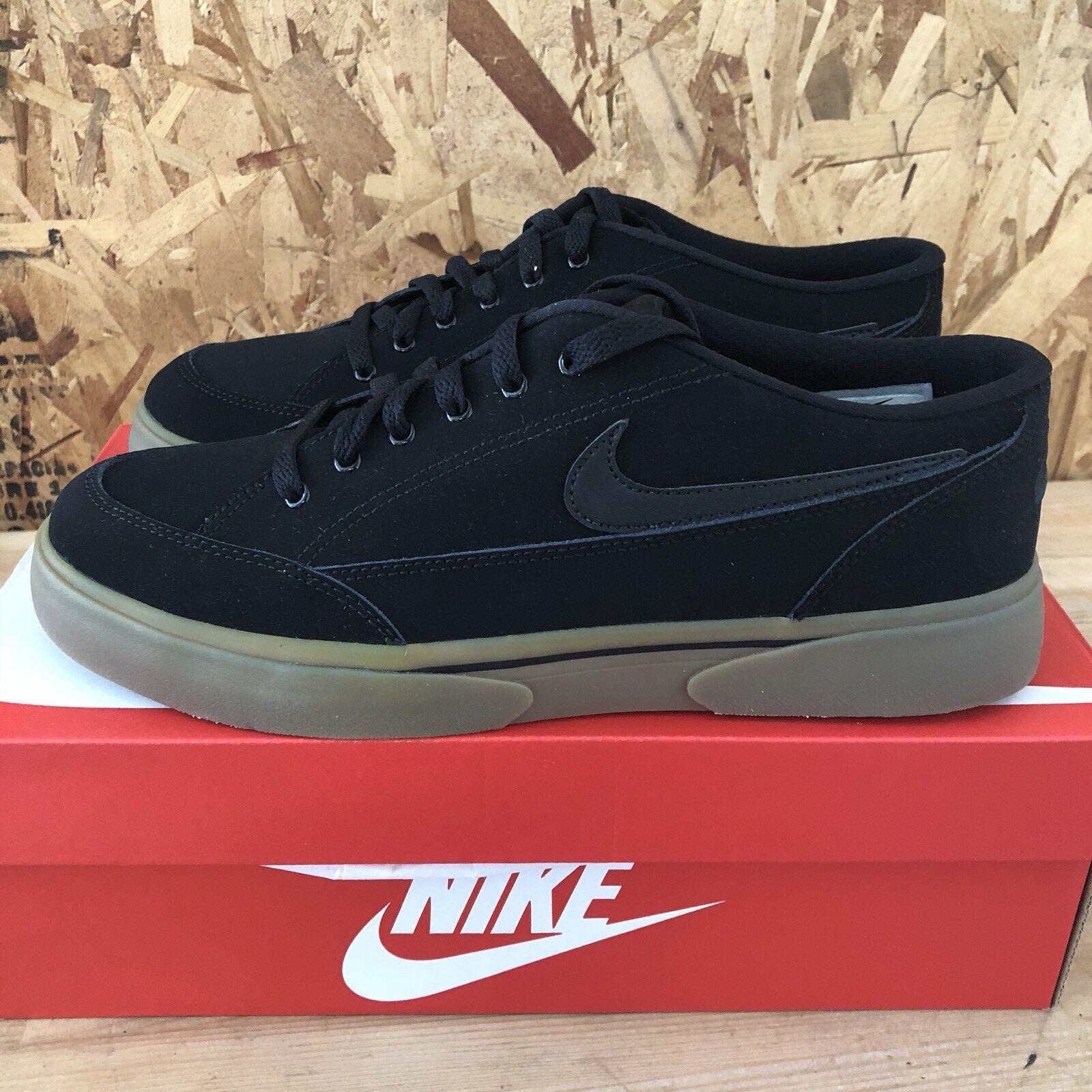 Nike GTS 16 Nubuck - Black   Black   Gum  Size 12 New