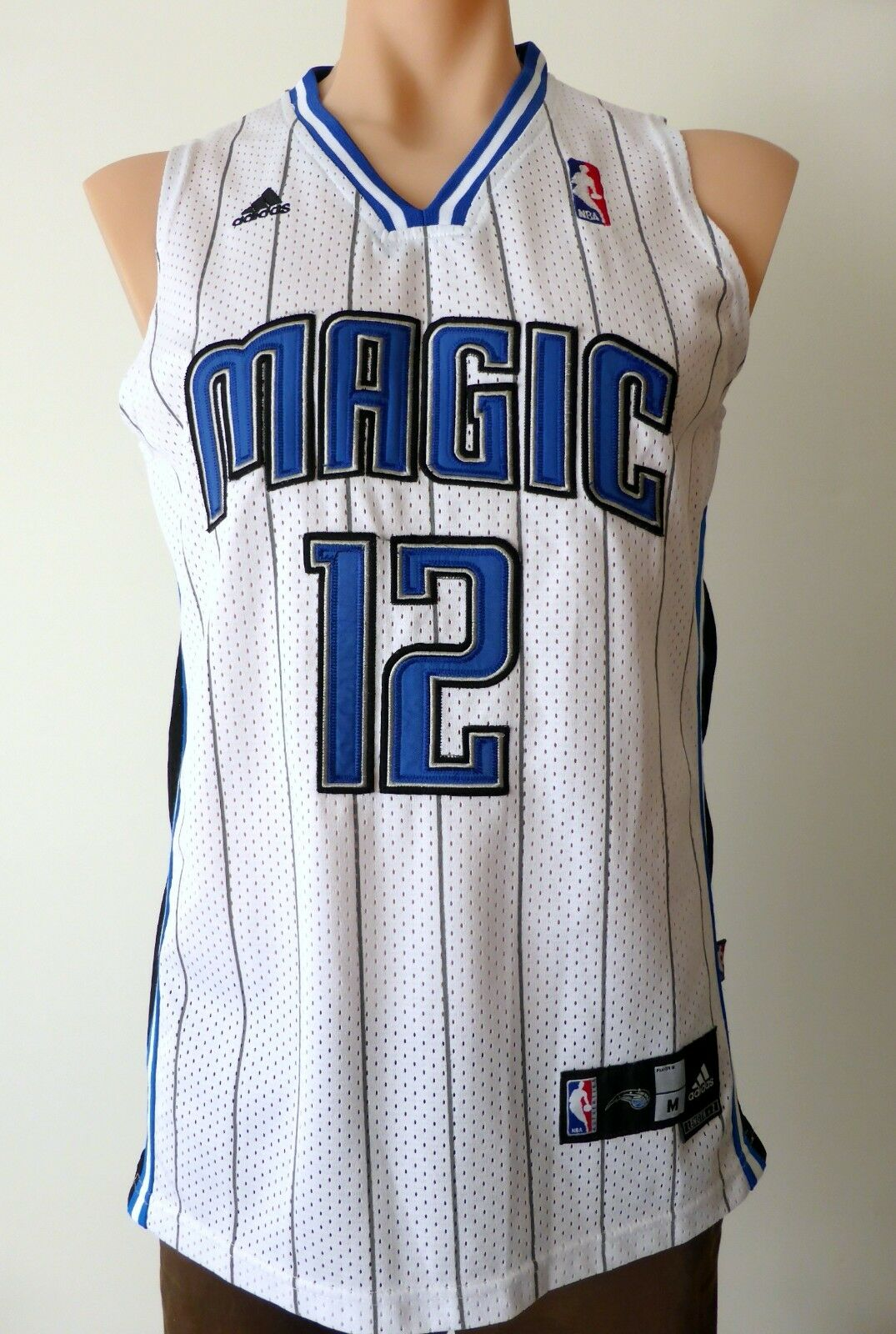ORLANDO MAGIC Dwight Howard Adidas NBA Basketball Jersey Size M Length +2