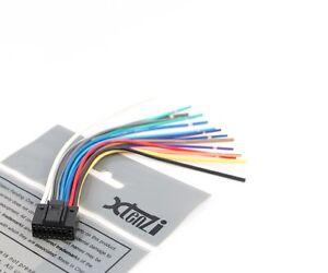 xtenzi 16 pin radio wire harness for pyle pldn750d 799872561831 ebay rh ebay com Pyle Electronics Pyle Pro DJ Speakers