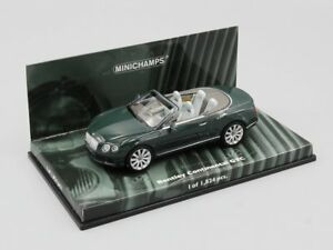 Desconocido 1//43 Car Bentley Continental GTC Next Generation 2011 Gris MINICHAMPS