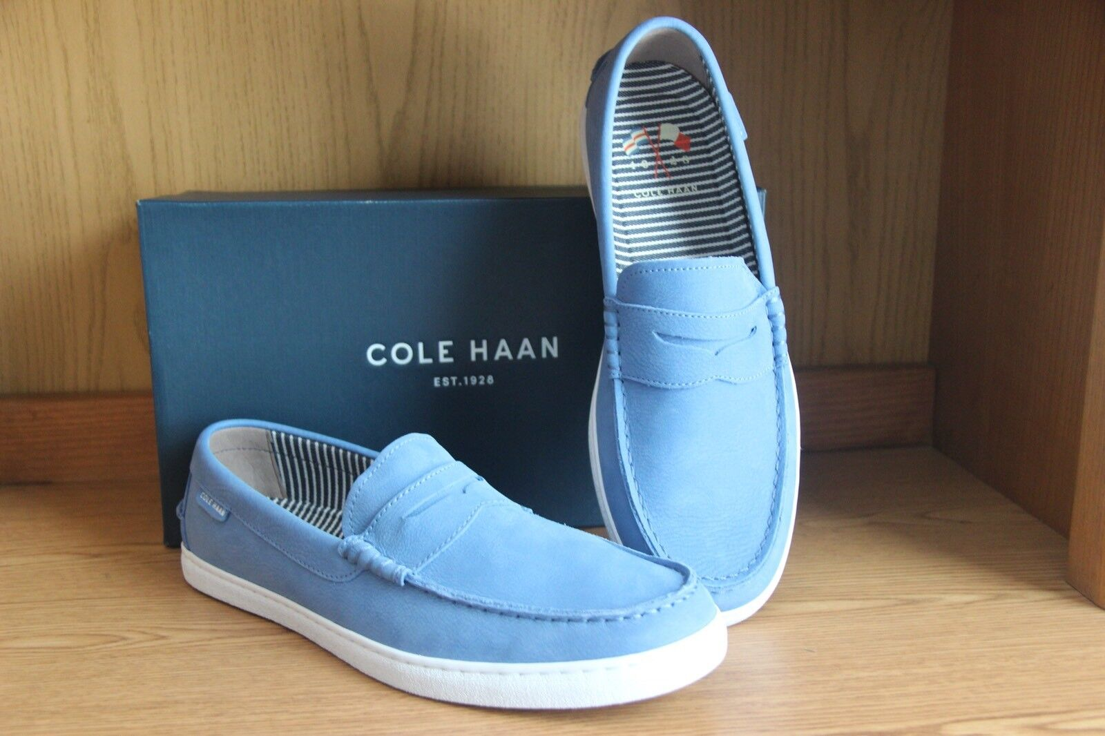Cole Caan Nantucket Loafer Riverside Blue Men Size 11.5 C27891