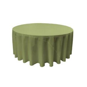 LA-Linen-Polyester-Poplin-Tablecloth-Dark-Sage-108-in-Round-Kitchen-Table-Linen