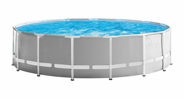 Intex 15ft X 48in Prism Frame Above Ground Pool Set For Sale Online Ebay