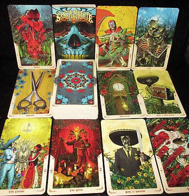Details about  /Santa Muerte Tarot cards Deck Book #1122