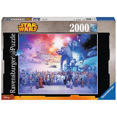 2000 Teile Ravensburger Puzzle Star Wars Universum 16701
