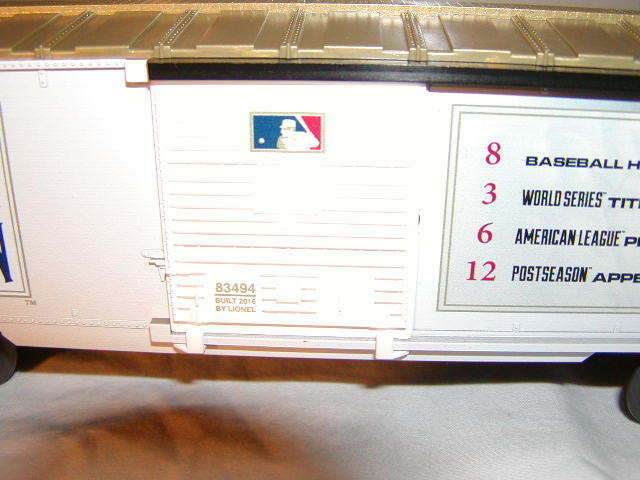 Lionel 6-83494 Baltimore Orioles Orioles Orioles scatola auto O 027 Cooperstown Collection MIB nuovo 535d00