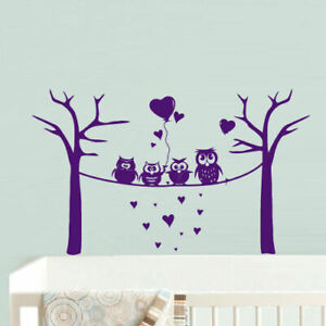 Details About Wall Decal Vinyl Sticker Decor Nursery Kids Baby Owl Baloons Bubbles Funny Z733