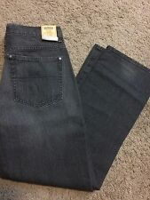 NWT Urban pipeline men's jeans slim straight leg grey size 36x32 MSRP $44