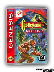 Castlevania-Bloodlines-Castlevania-The-New-Generation-GEN-Genesis-Game-Case