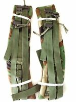 Military Surplus Army Alice Field Pack Quick Release Shoulder Straps Woodland