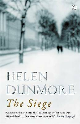 """""""AS NEW"""" Dunmore, Helen, The Siege, Paperback Book"""