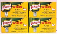 Pk 4 Of Knorr 6 Bouillon Cubes -chicken Flavor 2.2 Oz/pack-total 4pk X 6=24 Cube