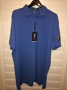 RLX-Ralph-Lauren-2018-Ryder-Cup-Polo-Shirt-Short-Sleeve-Mens-Blue-Size-XL-NWT