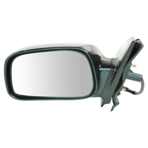 Mirror Side View Power Smooth Black Driver Left LH for 03-08 Toyota Corolla