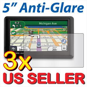 3x-Anti-Glare-LCD-Screen-Protector-Garmin-Nuvi-50-50LT-50LM-50LMT-LT-LM-LMT-GPS
