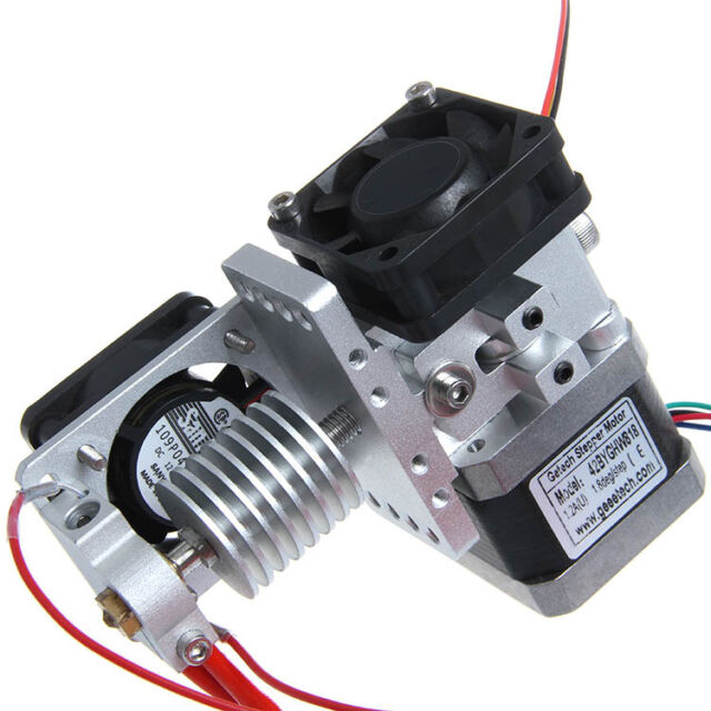 Metal GT9S extruder All metal J-head V2.0 hotend with cooling fan Prusa Mendel