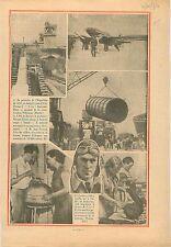 Pont d'Iéna Paris France/Grosvenor House Race London-Melbourne 1934 ILLUSTRATION