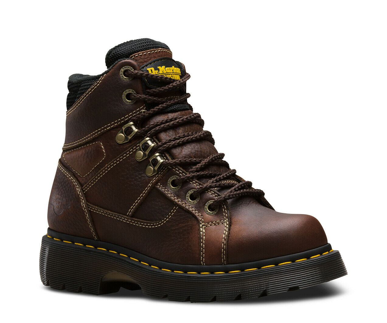 Mens Size US 8 12 Doc Dr Martens Ironbridge Steel Toe Work Brown CSA Approved