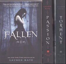 Lauren Kate Passion Fallen Torment 2 HB / 1 SB Lot of Three Paranormal