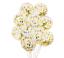 miniature 12 - Lot-de-12-confettis-ballons-latex-12-034-decorations-a-L-039-helium-Fete-D-039-anniversaire-Mariage