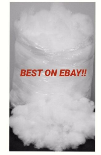 ***1KG VIRGIN SUPER SOFT POLYESTER STUFFING**** TOP QUALITY** PILLOW DOG BEDS