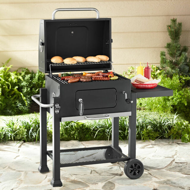 Charmant Charcoal Grill BBQ Outdoor Camping Barbecue Patio Burner Smoker Outdoor  Cooking