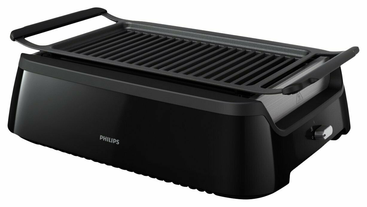 Philips Smoke-moins Grill d'intérieur HD6371 93