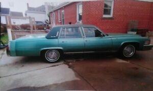 1978 Cadillac Brougham 4 Door Sedan