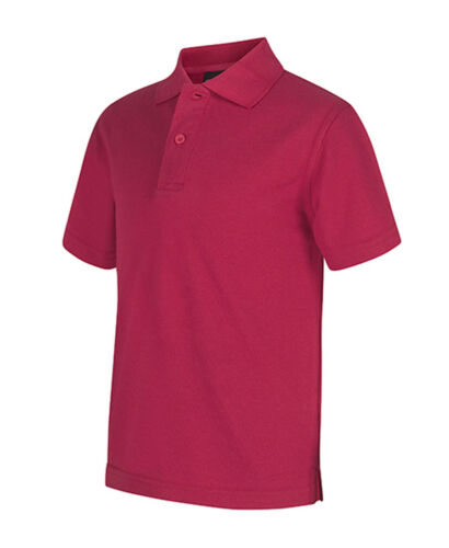 Jb/'s Kids School Polo Shirts With Cotton Blend Pique fabric Sun Protection 210gs