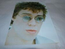 THE WATERBOYS - KARL WALLINGER - Mini poster couleurs !!!!!!!!!