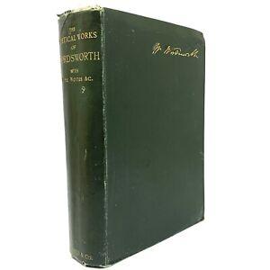 1892-POETICAL-WORKS-WILLIAM-WORDSWORTH-ALBION-EDITION-BOOK-Poems-Memoir-Sonnets