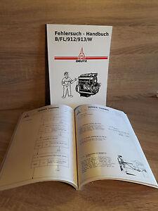 Fehlersuch Handbuch für Luftgekühlte Diesel Motor  F4L913