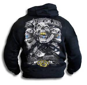 Gangster-Hustler-Thug-Bling-Mens-Womens-Youth-Hoody-Sm-2XL-Hooded-Top-Sweatshirt