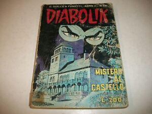 DIABOLIK-PRIMA-SERIE-ORIGINALE-INEDITO-ANNO-XI-N-22-MISTERO-AL-CASTELLO
