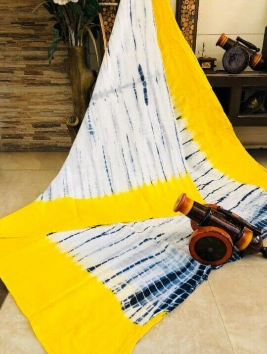 New Fashion Hand Loom Soft Cotton Saree & Blouse Piece - (IS-44)