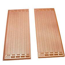 Us Stock 2pcs Prototype Pcb Universal Bread Board 85x20cm Sigle Side Copper