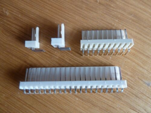 """5 off 8 Way 90° Pin PCB Headers 0.1/"""" Connectors KK 2.54mm"""