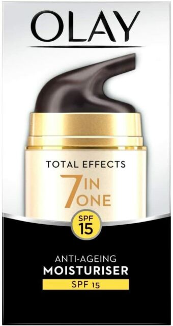 OLAY Total Effects 7 in ONE Anti-Ageing Moisturiser - SPF 15 50 ml