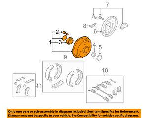 image is loading ford-oem-00-08-focus-rear-brakes-brake-