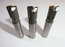 3 Tauchfräser Ø 10mm Schaft 10mm HM Nutenfräser Bohrfräser Fräser *V4.2B*