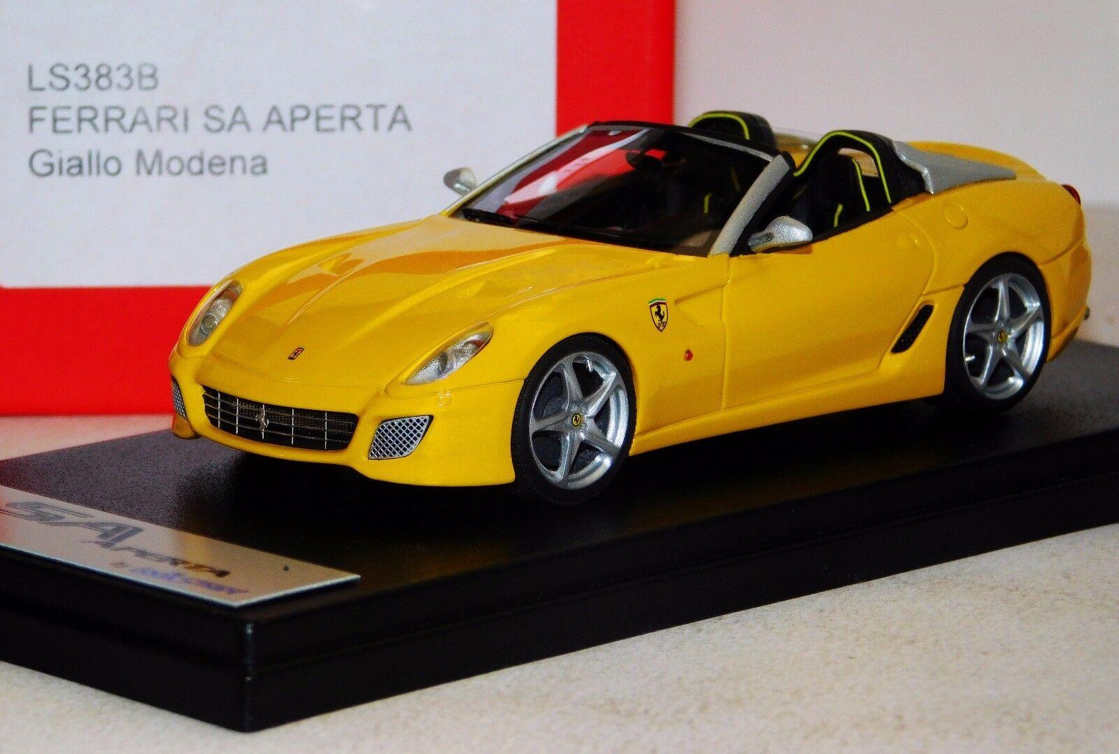 FERRARI SA APERTA  MODENA yellow   YELLOW LOOKSMART LS383B LIM. 1 50 1 43