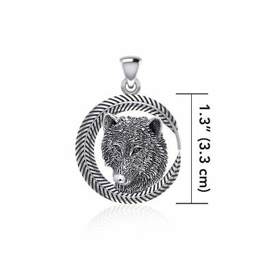 Heart Steampunk .925 Sterling Silver Pendant by Peter Stone Jewelry